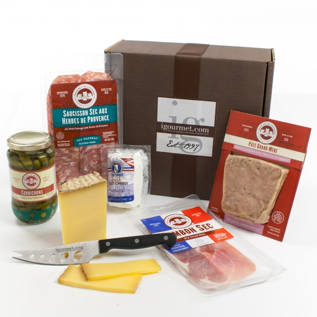 The French Charcuterie & Cheese Gift Box