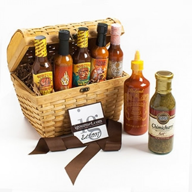 The Ultimate Hot Sauce Lovers Gift Chest