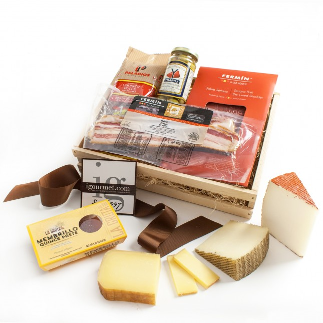 The Spanish Cheese & Charcuterie Gift Crate