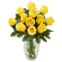 Sunny Days (12 Yellow Roses)