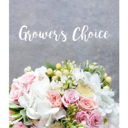 Mother's Day Bouquet of Grower's Choice with Vase